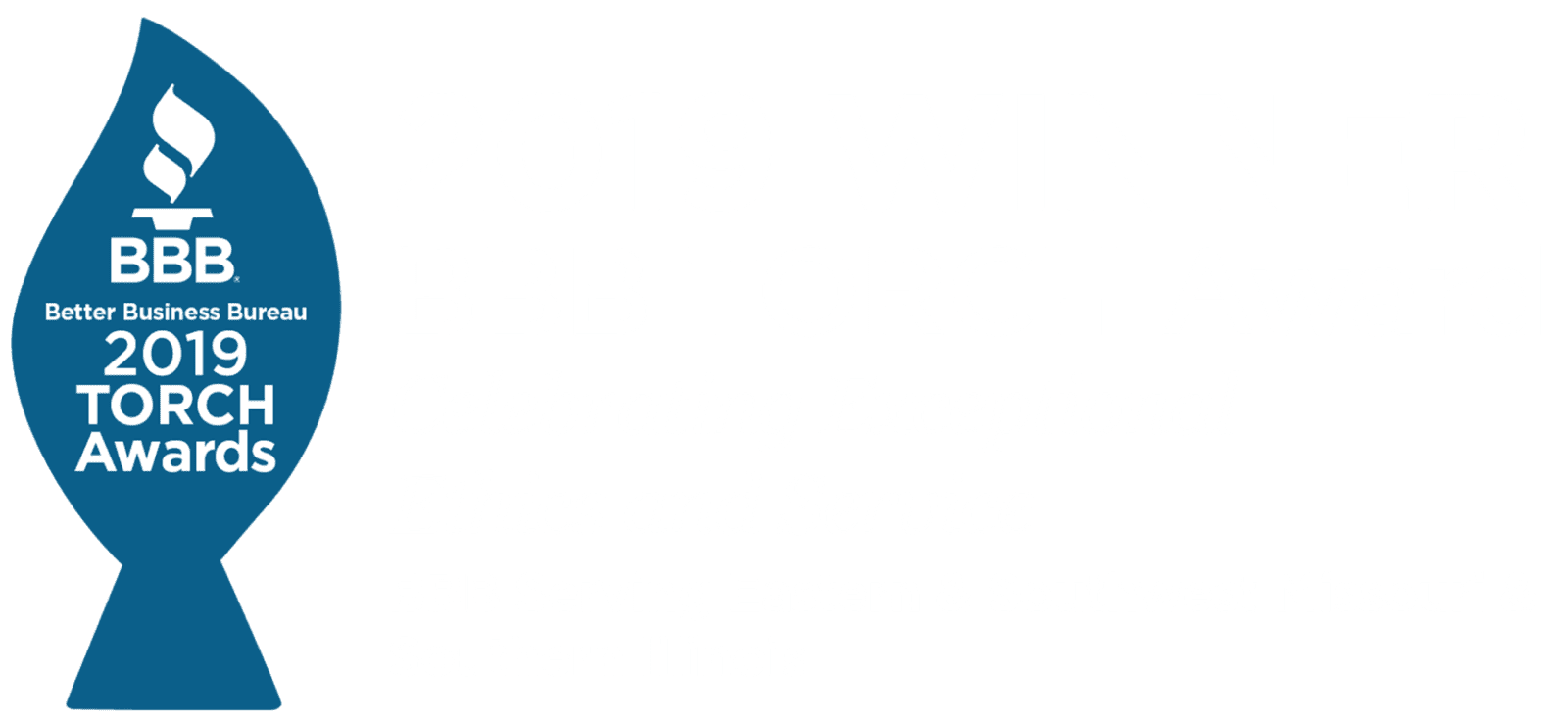 2019 BBB Torch Award Winner logo